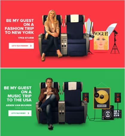 [圖三] KLM廣告文宣