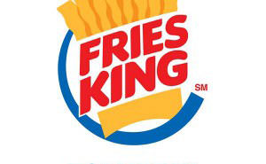 [圖一] 薯條王 logo