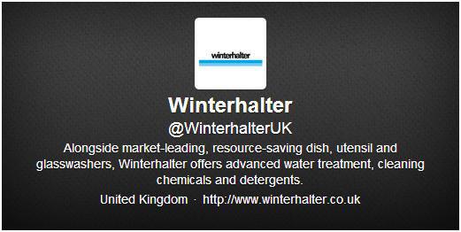 圖七 Winterhalter之twitter帳號介紹