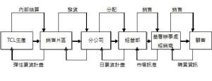 圖(五)TCL銷售網絡