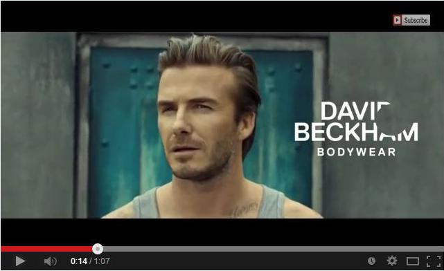 圖六David Beckham代言廣告影片圖七 google+分享關係圖-David Beckham