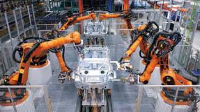 圖二-工業機器人運作圖
