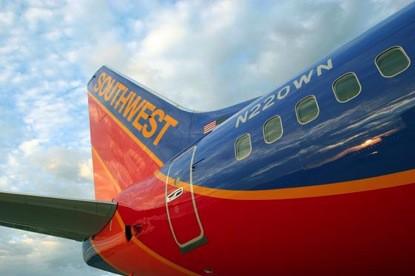 圖一西南航空客機