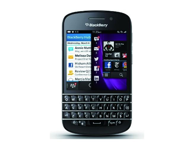 圖一_Blackberry黑莓機